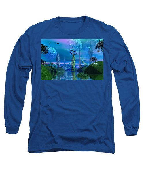 Tower Of Hurn Long Sleeve T-Shirt