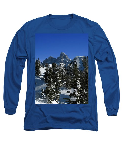Long Sleeve T-Shirt featuring the photograph Towering Above Lies The Grand by Raymond Salani III