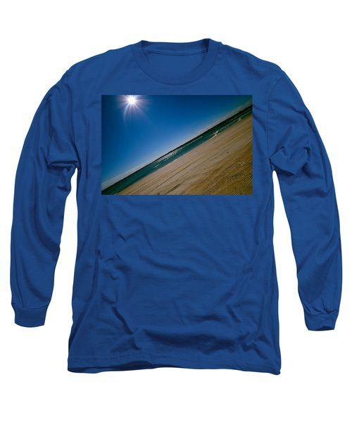 Long Sleeve T-Shirt featuring the photograph Treads In The Sand by DigiArt Diaries by Vicky B Fuller