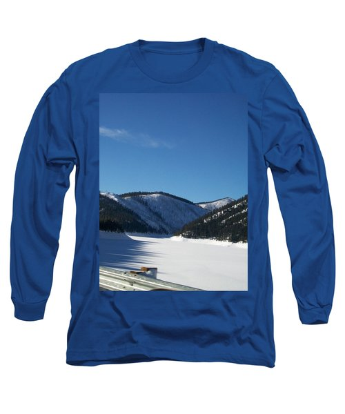 Long Sleeve T-Shirt featuring the photograph Tree Shadows by Jewel Hengen