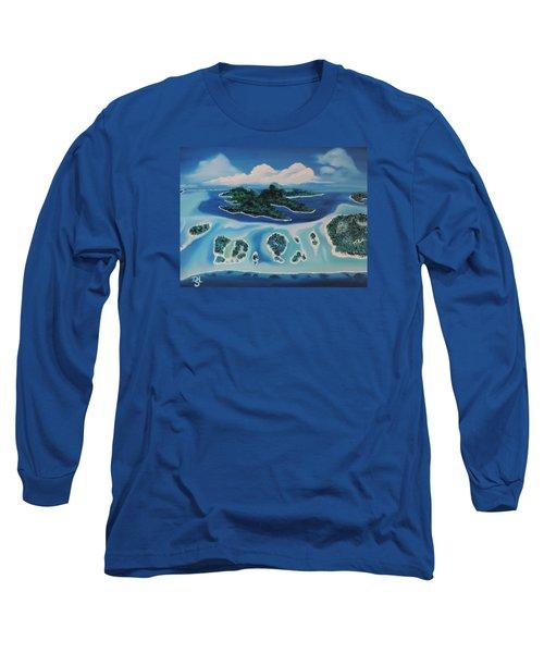 Tropical Skies Long Sleeve T-Shirt