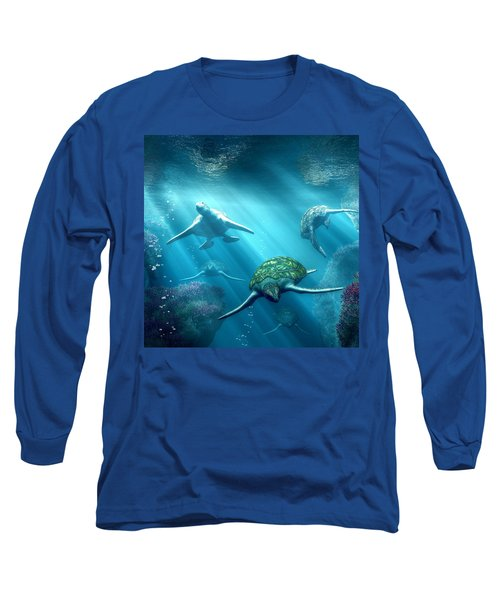 Turtle Alley Long Sleeve T-Shirt