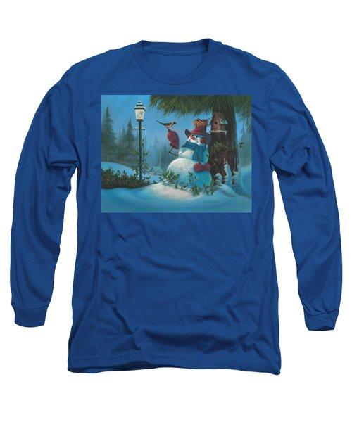 Tweet Dreams Long Sleeve T-Shirt by Michael Humphries