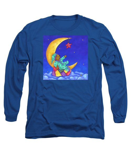 Twinkle Little Star Long Sleeve T-Shirt by Tracy Campbell