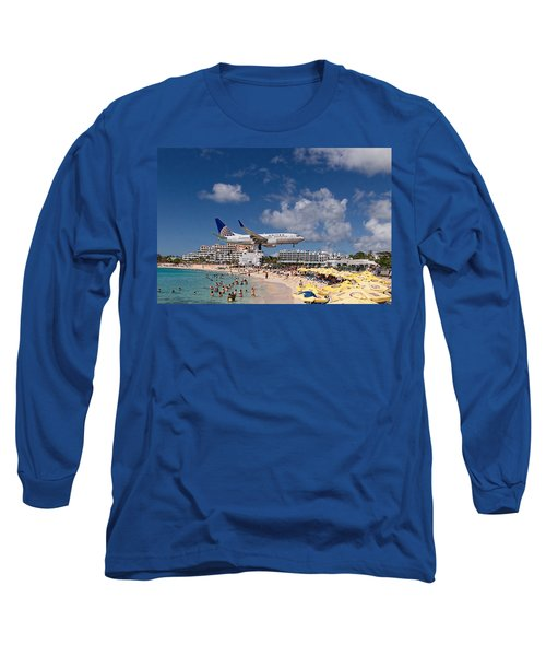 United Low Approach St Maarten Long Sleeve T-Shirt