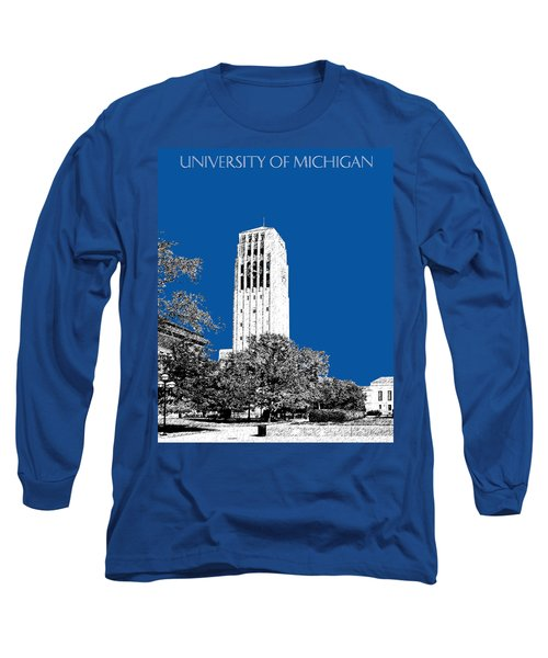 University Of Michigan - Royal Blue Long Sleeve T-Shirt