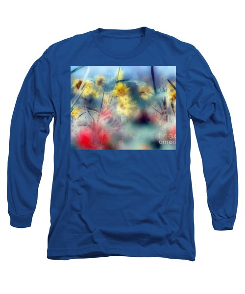 Long Sleeve T-Shirt featuring the photograph Urban Wildflowers by Michael Hoard
