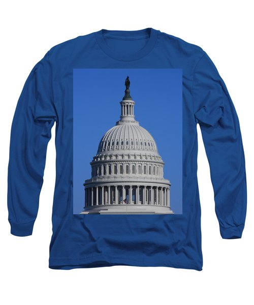 Us Capitol Dome Long Sleeve T-Shirt