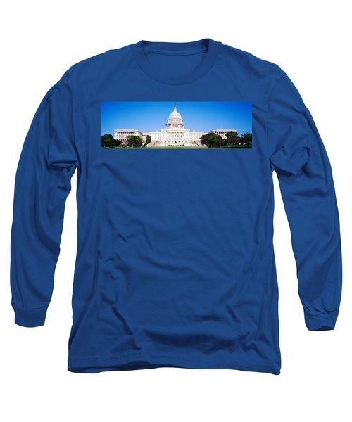 Us Capitol, Washington Dc, District Of Long Sleeve T-Shirt