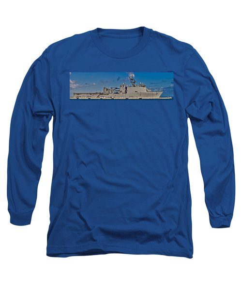 Uss Fort Mchenry Long Sleeve T-Shirt