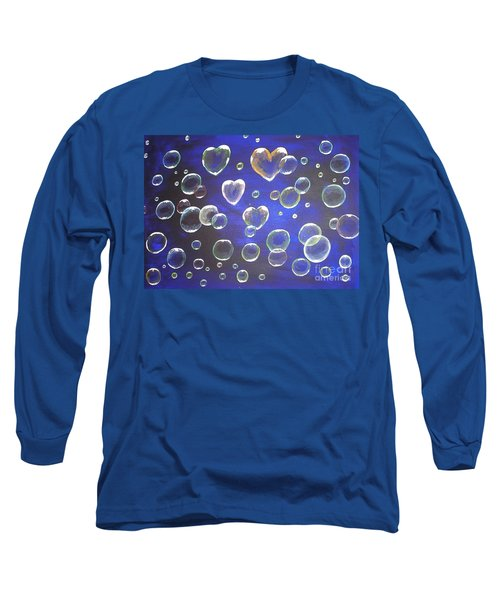 Valentine Bubbles Long Sleeve T-Shirt