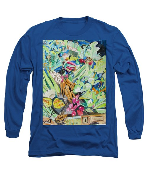 Vegetables At The Jerusalem Market Long Sleeve T-Shirt