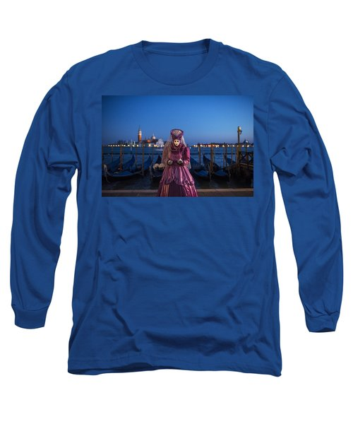 Venice Carnival '15 V Long Sleeve T-Shirt