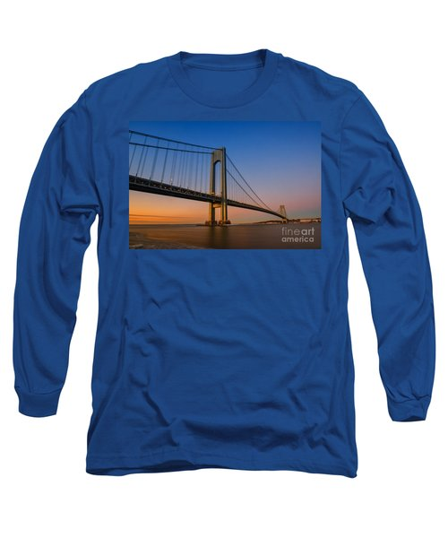 Verrazano Bridge Sunrise  Long Sleeve T-Shirt