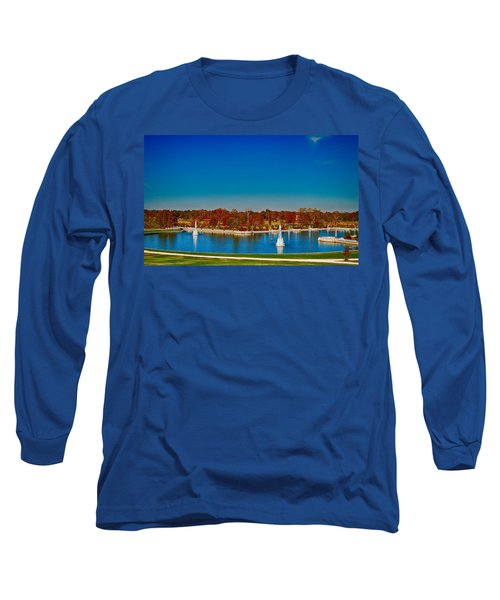 View From Art Hill Forest Park Missouri Long Sleeve T-Shirt