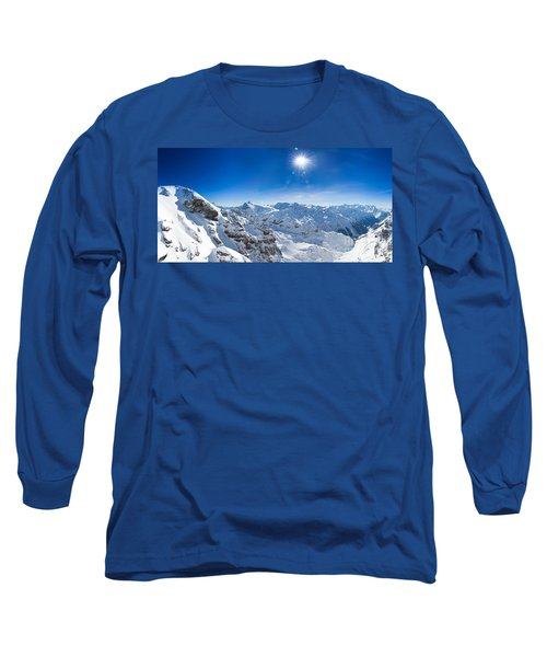 View From Titlis Mountain Towards The South Long Sleeve T-Shirt