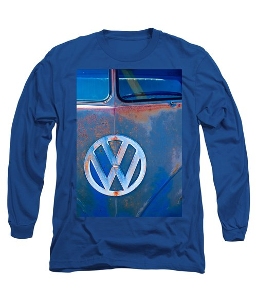 Volkswagen Vw Bus Emblem Long Sleeve T-Shirt