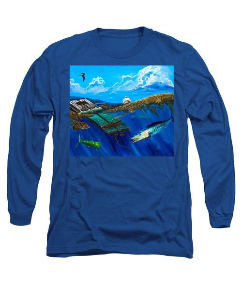 Wahoo Under Board Long Sleeve T-Shirt