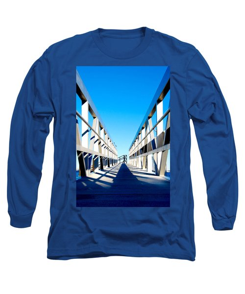 Walk Away Long Sleeve T-Shirt by Greg Fortier