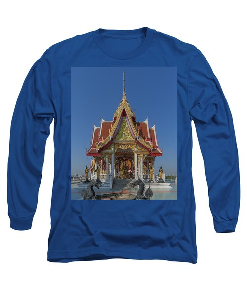 Wat Bukkhalo Central Roof-top Pavilion Dthb1809 Long Sleeve T-Shirt