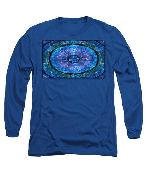 Long Sleeve T-Shirt featuring the photograph Water Round by Kristin Elmquist