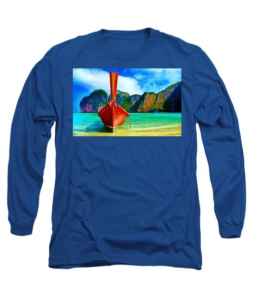 Watermarked-a Dreamy Version Collection Long Sleeve T-Shirt