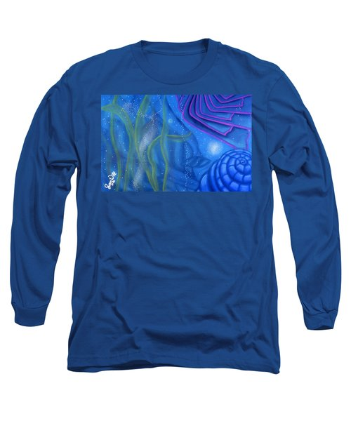 Watery Long Sleeve T-Shirt