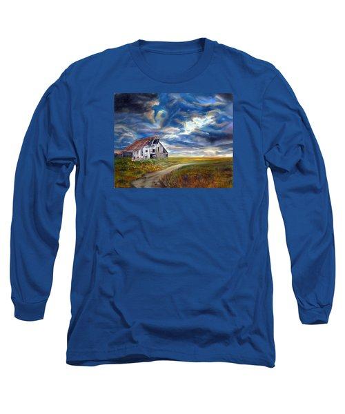 Weathered Barn Long Sleeve T-Shirt
