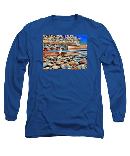 Weighed In Stone Long Sleeve T-Shirt by Catherine Lott