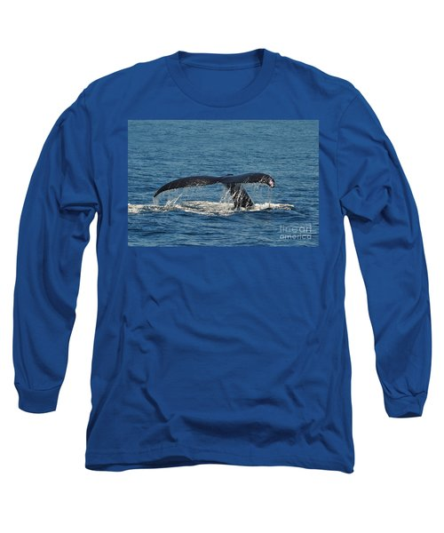 Long Sleeve T-Shirt featuring the photograph Whale Tail by Randi Grace Nilsberg