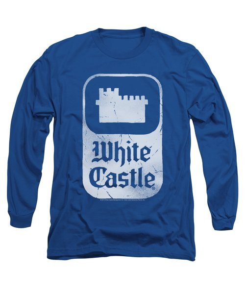 White Castle - Classic Logo Long Sleeve T-Shirt
