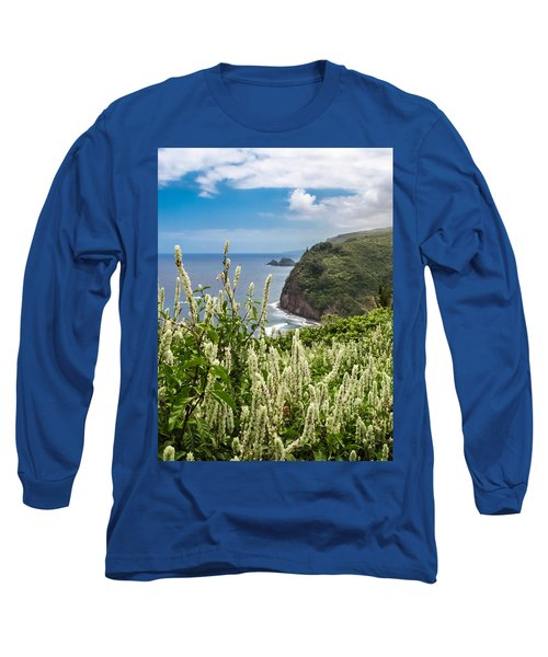 Wild Flowers At Pololu Long Sleeve T-Shirt