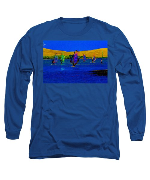 Wind Surf Lessons Long Sleeve T-Shirt