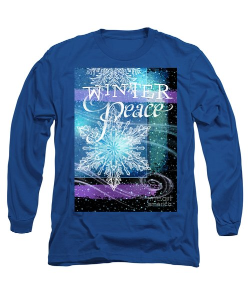 Winter Peace Greeting Long Sleeve T-Shirt