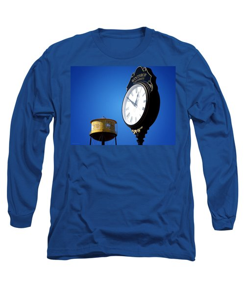 Long Sleeve T-Shirt featuring the photograph Winthrop Time by Greg Simmons
