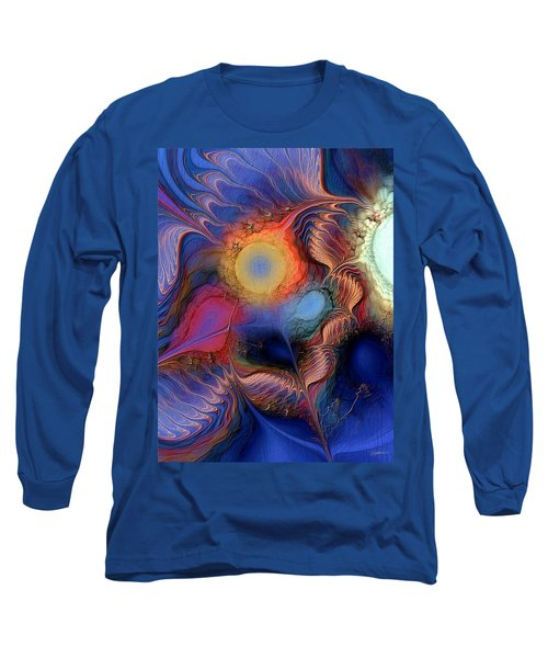 Within You And Without You Long Sleeve T-Shirt by Casey Kotas