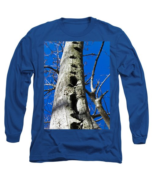 Long Sleeve T-Shirt featuring the photograph Woody's Paradise by Nick Kirby