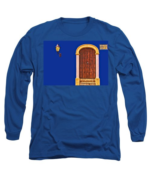 Door And Lamp Long Sleeve T-Shirt