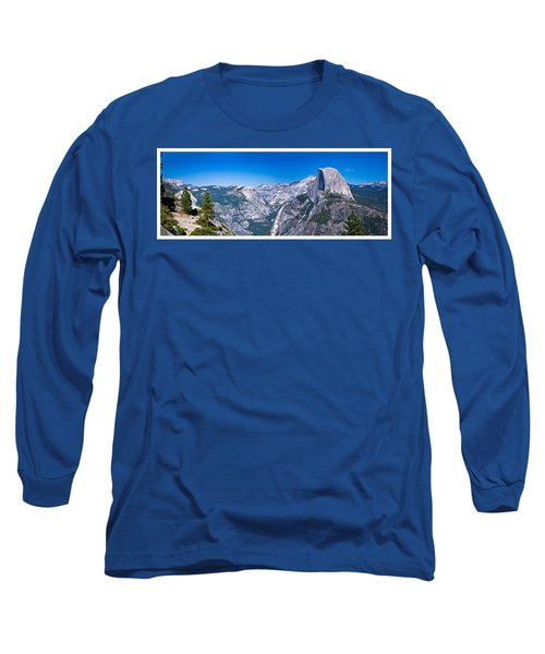 Yosemite Valley From Glacier Point Long Sleeve T-Shirt