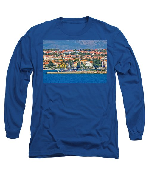Zadar Waterfront Sea Organs View Long Sleeve T-Shirt