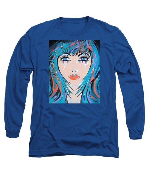 Long Sleeve T-Shirt featuring the painting Zahara by Kathleen Sartoris