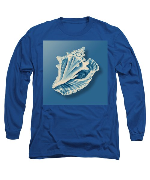 X-ray Of A Conch Shell Long Sleeve T-Shirt