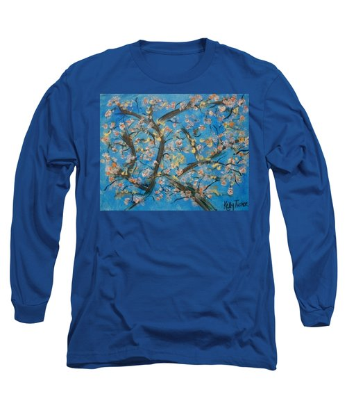 Almond Blossom  Long Sleeve T-Shirt