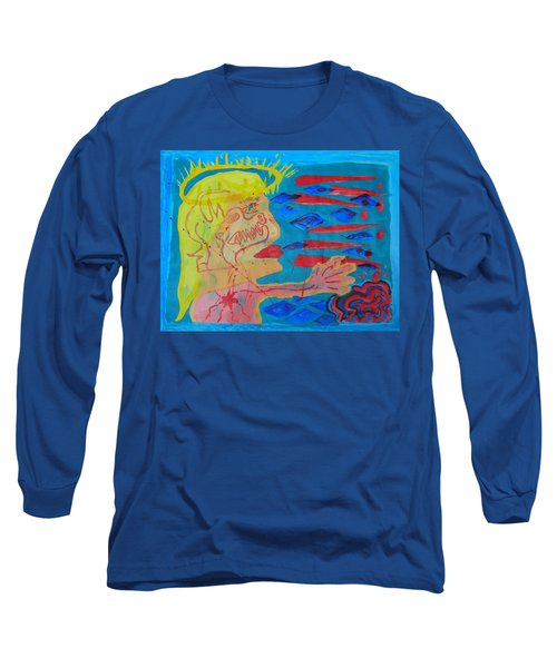 Past Their Mask - Hate Evil  Long Sleeve T-Shirt