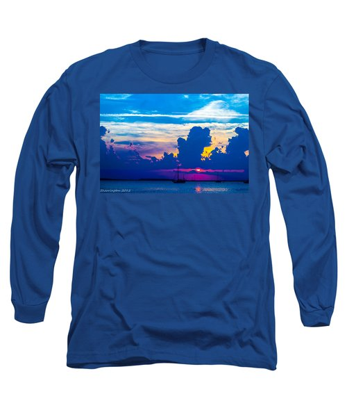 The Purple Sunset Long Sleeve T-Shirt