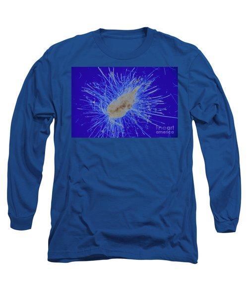 Aquatic Phycomycete Long Sleeve T-Shirt by M. I. Walker