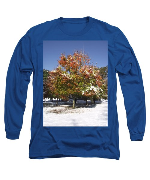 Autumn Snow Long Sleeve T-Shirt