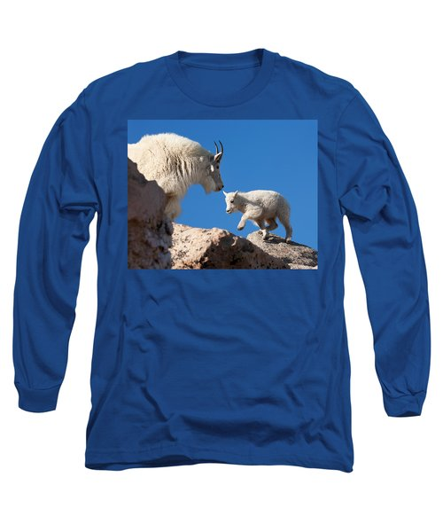 Long Sleeve T-Shirt featuring the photograph Baby Steps by Jim Garrison
