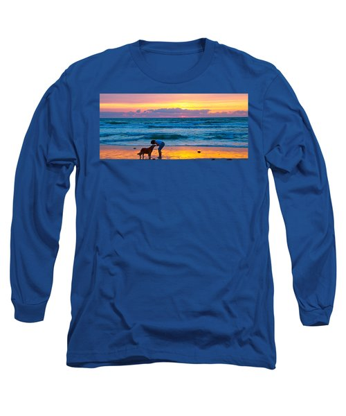 Long Sleeve T-Shirt featuring the photograph Bella At Sunrise by Alice Gipson