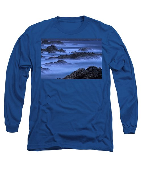 Long Sleeve T-Shirt featuring the photograph Big Sur Mist by William Lee